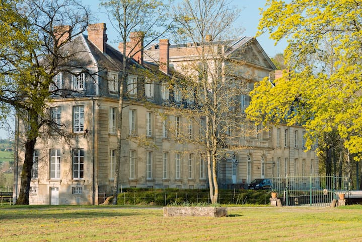18th-century Chateau in Normandy - Courtomer - Slott