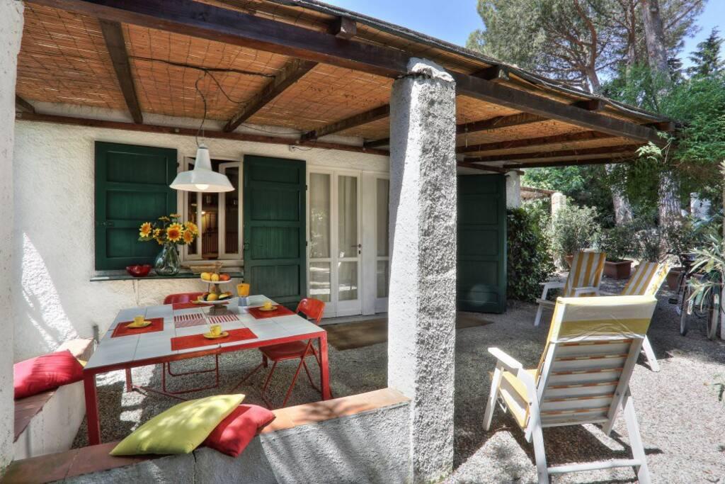 Tavolo veranda