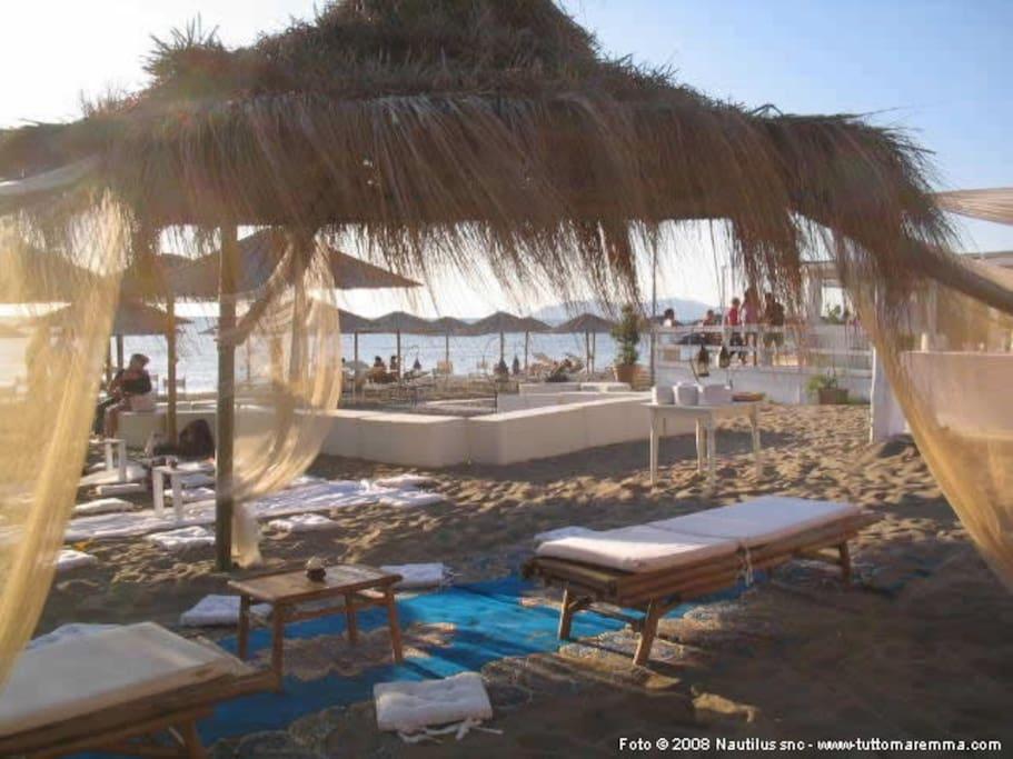Spiaggia attrezzata della Giannella