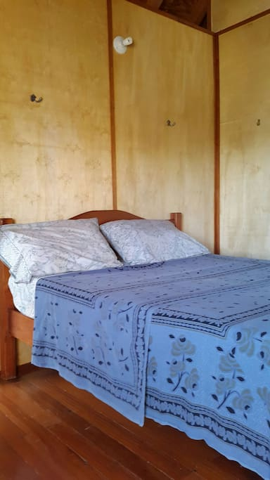 Double bedroom in shared loft apartment with air condition