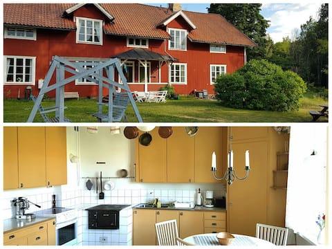 Apartment in the charming village Strömsberg