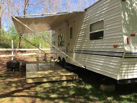 29' camper (Sport).  Quiet rural area.