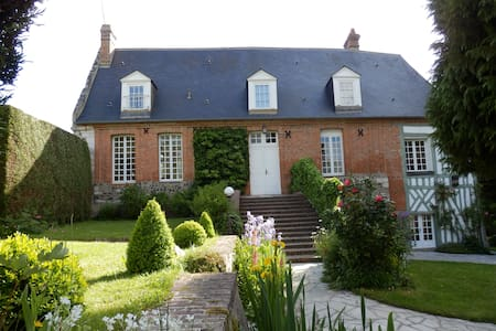 Charming presbytery in Normandy - Tourville-sur-Pont-Audemer - Casa
