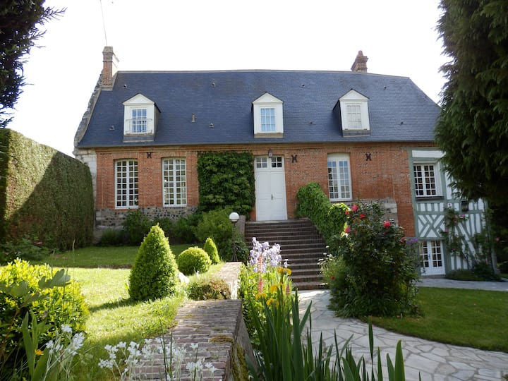 Charming presbytery in Normandy