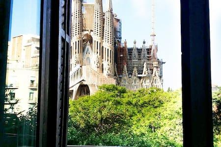 Double bed in Sagrada Familia
