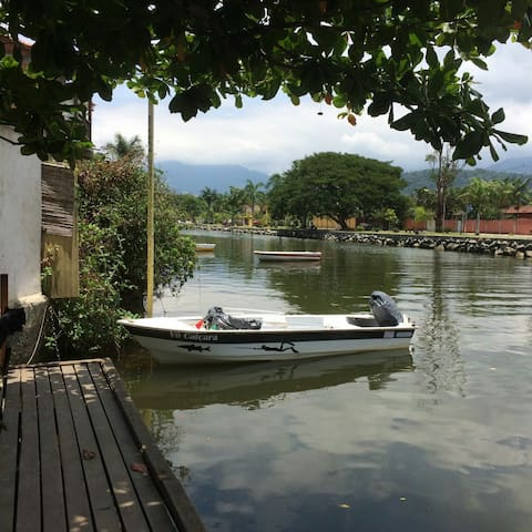 Old River- Apartment river's view in Paraty Center - Paraty - Huis