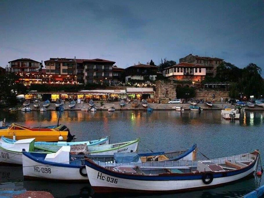 Old Nessebar port