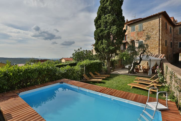 Fracassini- Village House w/Pool - Pergine Valdarno - Casa de vacances