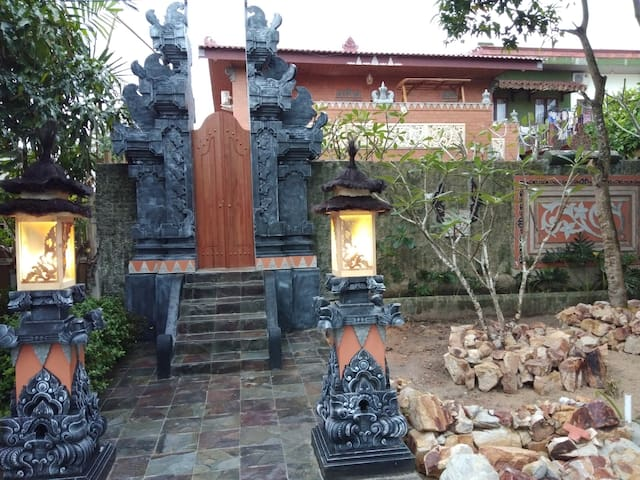 Our Balinese Gate - Entrance