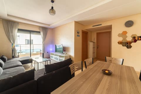 APARTMENT HAUT STANDING DS UNE BEACH RESIDENCE