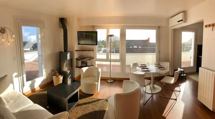 Appartement cosy - Terrasse vue panoramique 360° ☀️