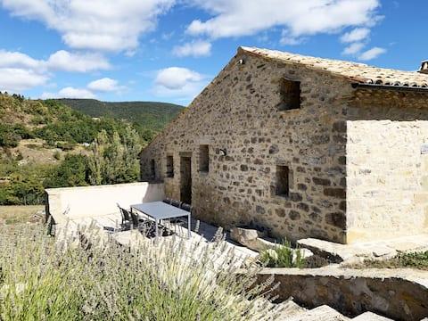 Gîte pour 2 personnes situé en Drôme Provençale