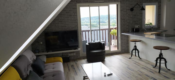 Joli appartement F2  dans résidence avec piscine