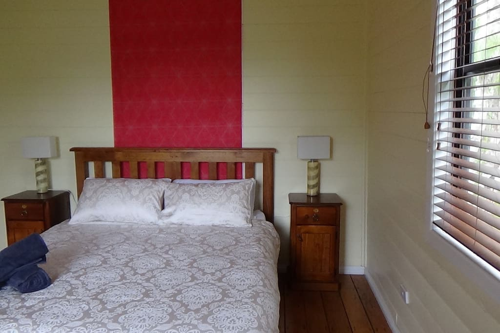 Gloriously appointed guest bedroom