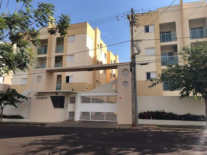 Apartamento mobiliado para locação em Birigui-SP
