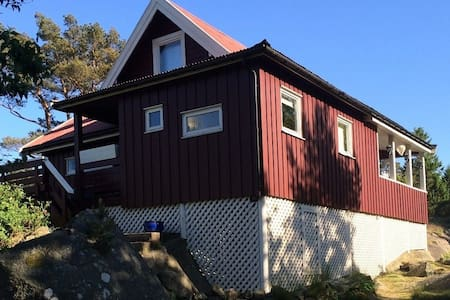 Nice, private summer house in sunny Tjøme