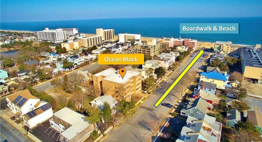 ❤️Dwtn Rehoboth 2BR Oceanblck Condo+Parking+Linens