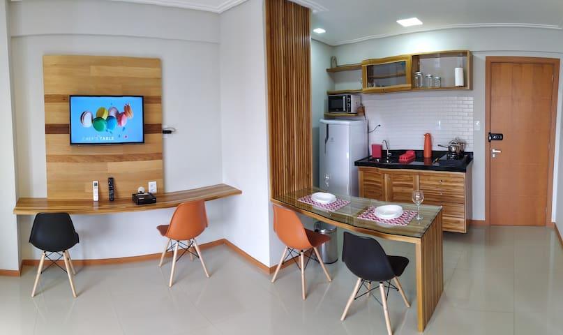 Loft completo, 2 camas e piscina centro de Belém