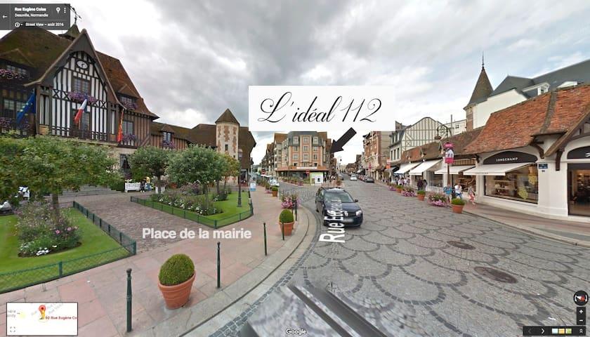 """""""L'IDEAL 112"""" 5* apartment in Deauville - Deauville - Lakás"""
