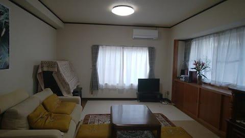 ゲストハウス まりん   まるまる貸切 宿泊だけでなく、各種パーティ、合宿など多目的に利用できます。