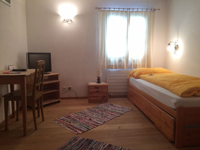 Cute Single Room - Pontresina - Aamiaismajoitus