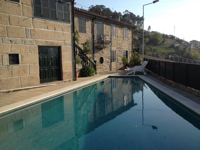 Casa com piscina - Passadiços do Paiva