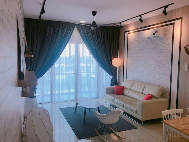 Atlantis/Melaka/Sea-View/Jonker Walk/4-6pax/Wifi