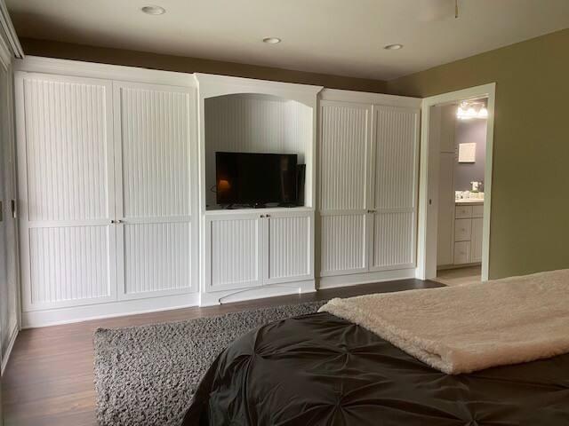 Bedroom 1 - closets/storage