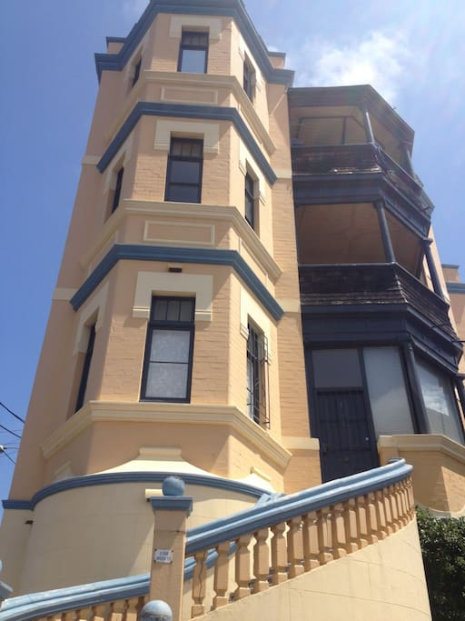 Coogee landmark building.  A fine example of Art Deco Architecture