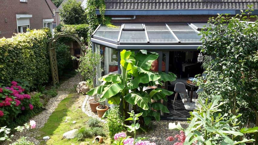 Haus in grüner Oase mit wunderschönem Wintergarten - Vaals - 獨棟
