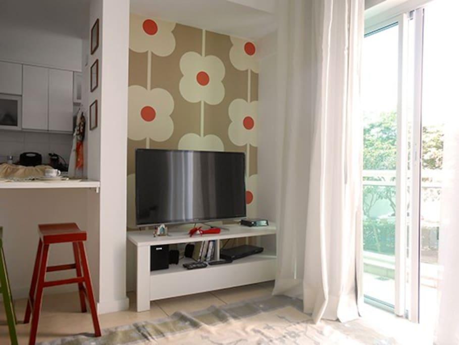 1º floor - living room