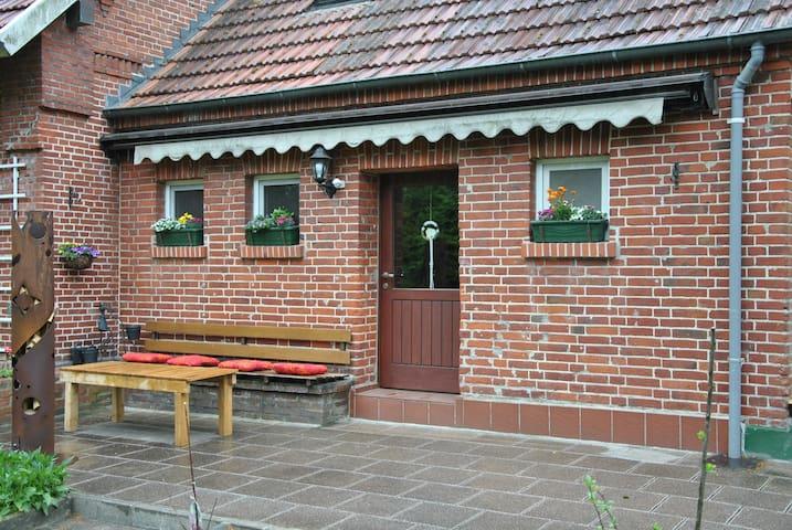 Ferien- und Monteurswohnung - Haselünne - Hus