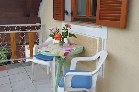 Zimmer mit Küche + Balkon