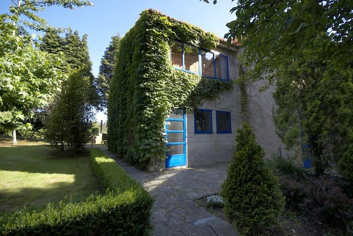 Casita con jardín y piscina - Santiago de Compostela - Leilighet