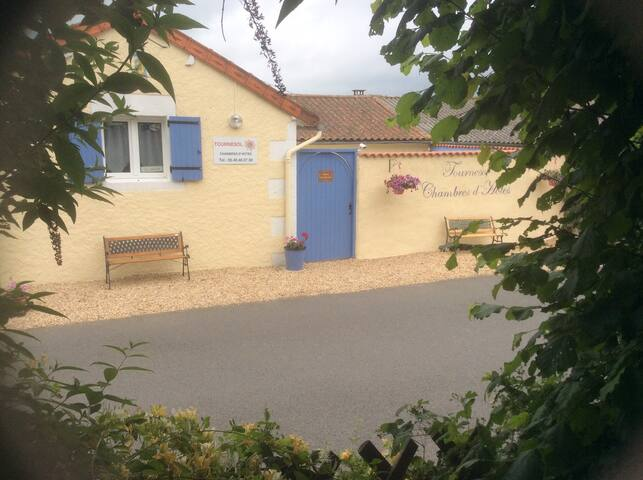 Tournesol Chambres d'Hote Single - Gouex - Bed & Breakfast