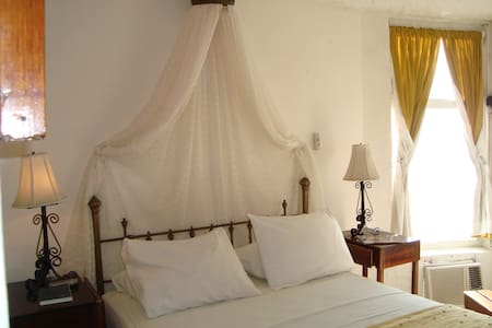 Queen room with ocean view - Bahia de Caraquez