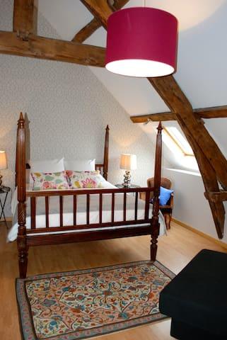 Chambre #2 dans maison de charme - Saint-Brice  - Bed & Breakfast