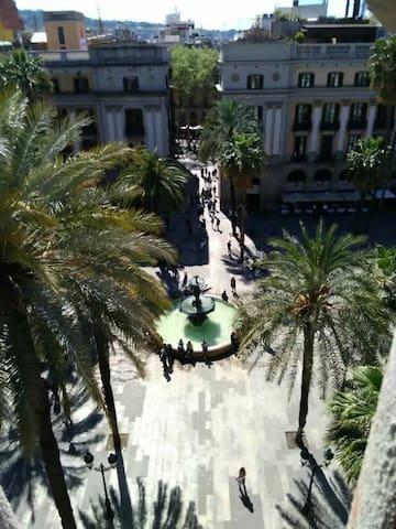 Rambla straight ahí the Plaza