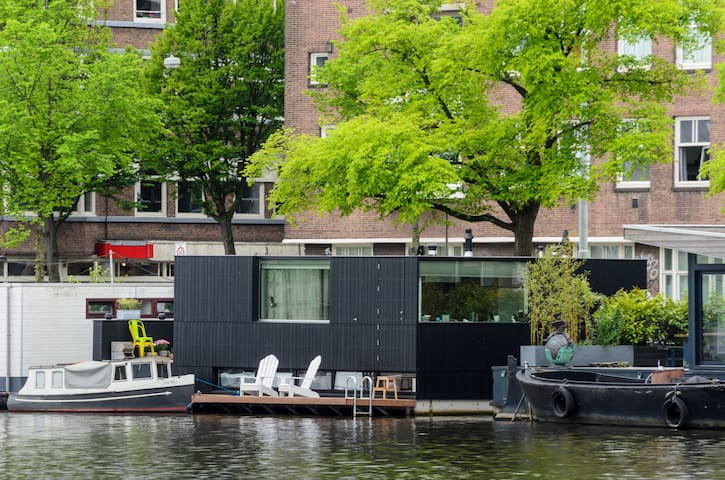 Amazing modern houseboat great view