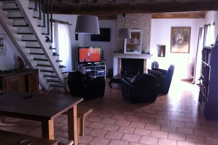 Maison ancienne - Précy-le-Sec - Casa