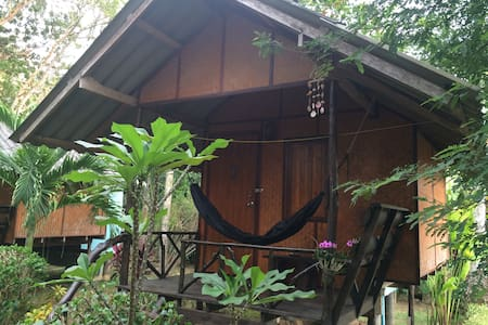 Wooden Bungalow Back Line Sea 9 - Koh Chang Tai