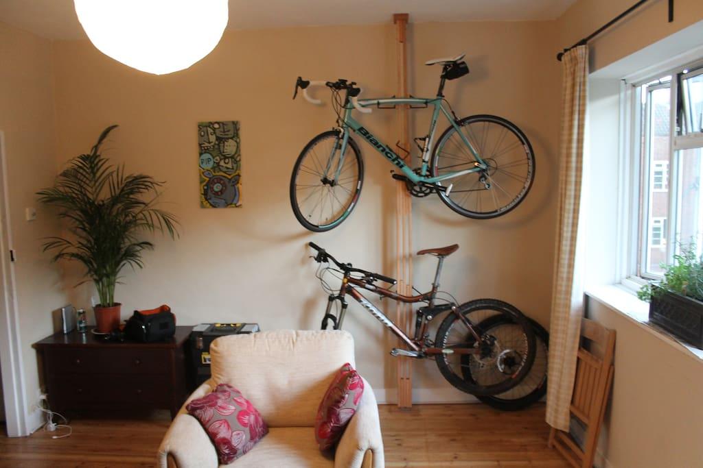 Bike not included im afraid :)
