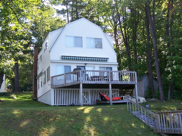 Cozy 5-BR Cottage on Bantam Lake - Morris - Hus