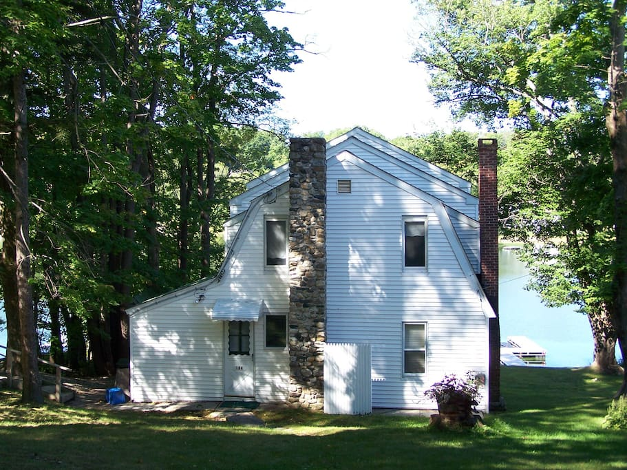 Rear of cottage, view from the street