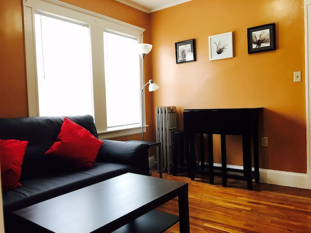 two bedroom with parking