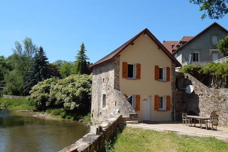 Charmant moulin restauré avec goût bord de rivière - Le Chalard - Talo