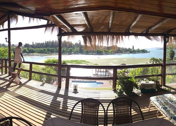 La mejor Vista del lago y muchas entretenciones
