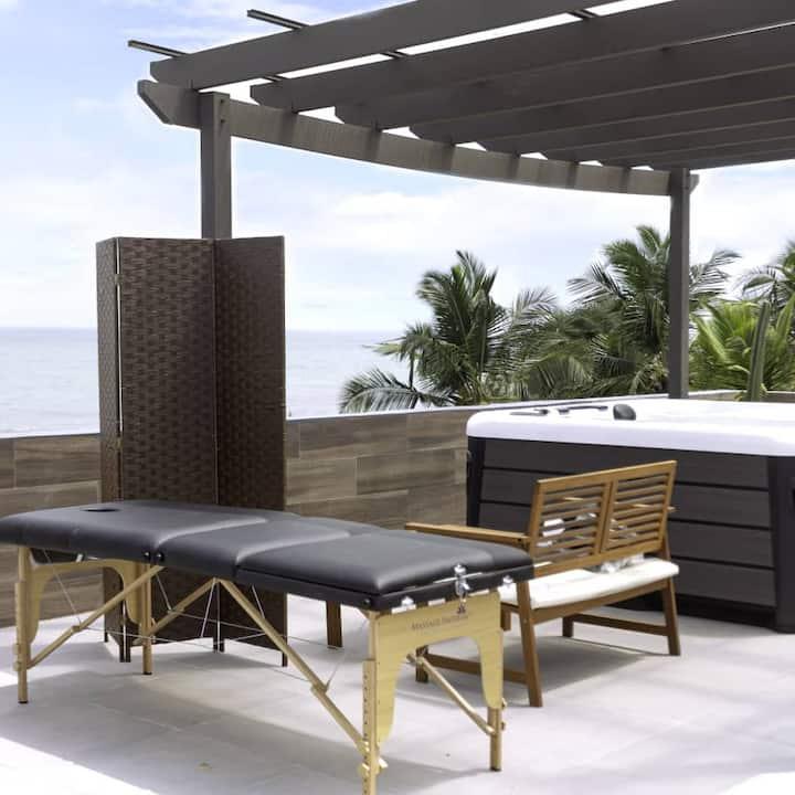 Lux 3BD Beach Villa Kokrobite (Pool,Beach,Jaccuzi)