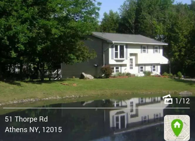 Charming house with private lake - Catskill - Rumah