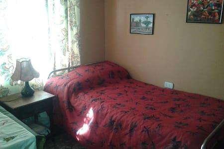 dormitorio casa familiar baño comun - Quilpué belloto centro